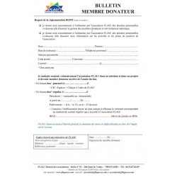 Bulletin donateur