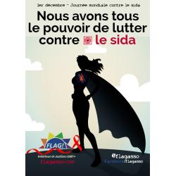 Lutte contre le sida - Femme